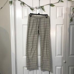Light gray fleece pajama pants